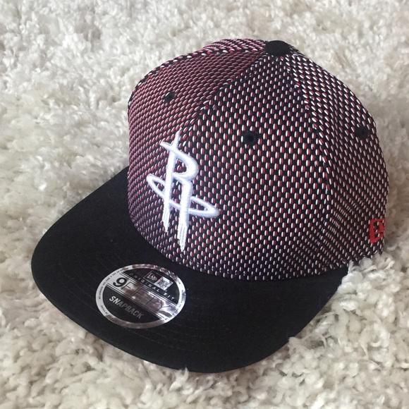 10df1e81e7c New Era Houston Rockets Snapback Hat NBA Red